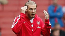 Nicklas Bendtner si v Arsenale zarobil