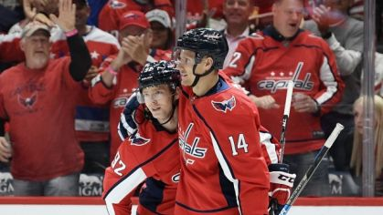 Richard Pánik a Jevgenij Kuznecov, Washington Capitals