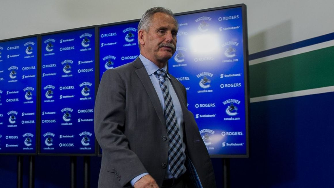 Willie Desjardins Vancouver Canucks apr17 Getty Images