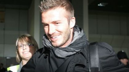 Beckham david manchester welcome home
