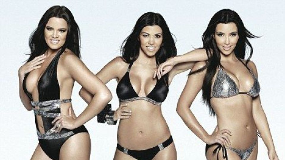 Kardashian kim kourtney khloe beach bunny