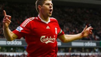 Liverpool gerard gol blackburnu 2010