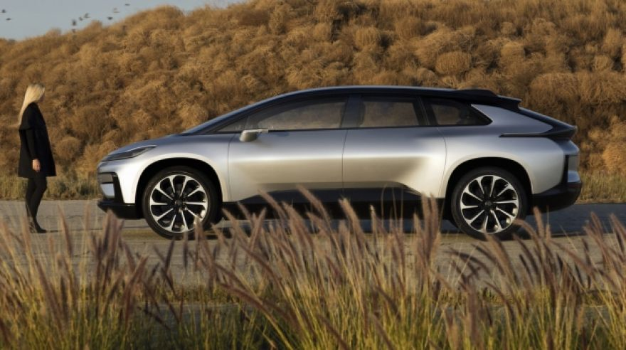 Faraday Future FF 91 (zdroj: Faraday Future)