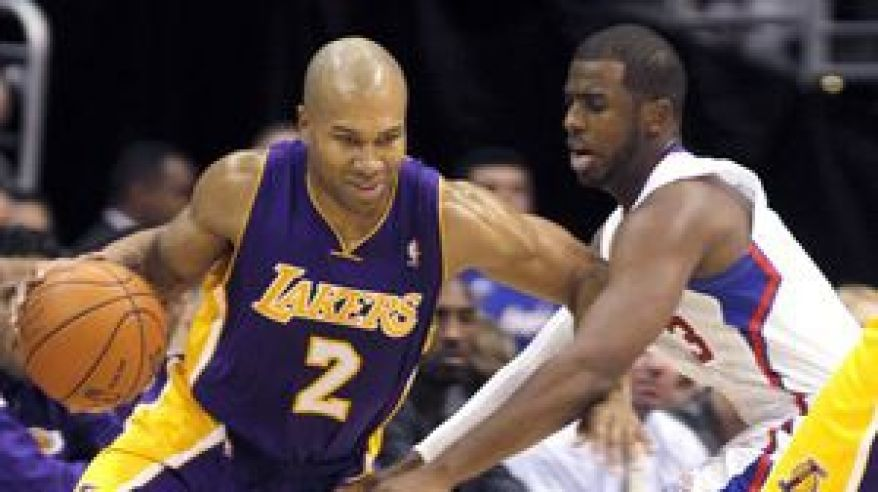 Lakers clippers fisher paul dec11