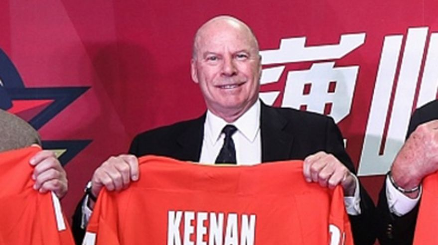 mike keenan, red star khunlun, khl, cina, mar2017