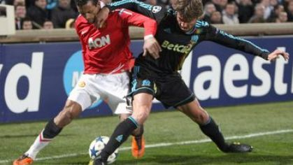 Heinze marseille vs nani man utd lm2011
