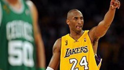 Bryant kobe lakers vs celtics finale08