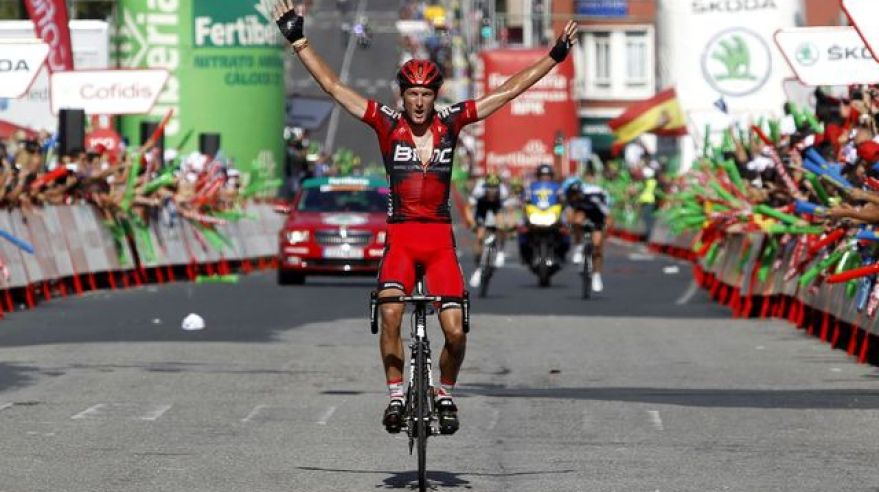 Steven cummings bmc vuelta 2012  etapa reuters