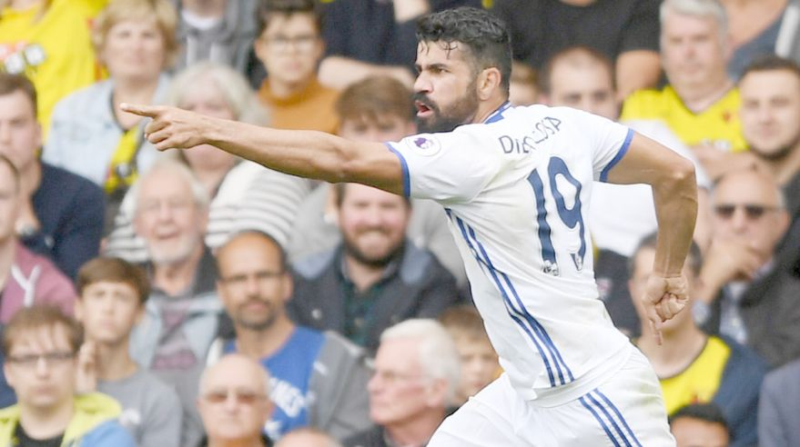 Diego Costa, Chelsea, aug16, reuters