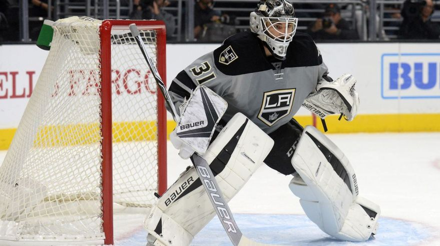 peter budaj, los angeles kings