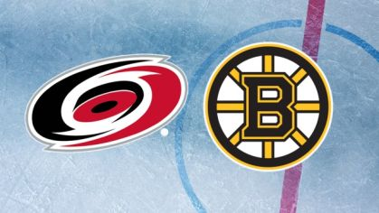 ONLINE: Carolina Hurricanes - Boston Bruins