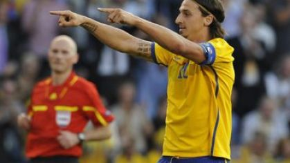 Ibrahimovic svedsko hetrik vs finsko jun2011