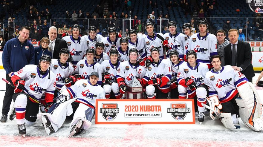 CHL/NHL Top Prospects Game.