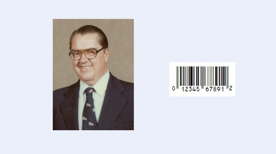 George J. Laurer a Universal Product Code