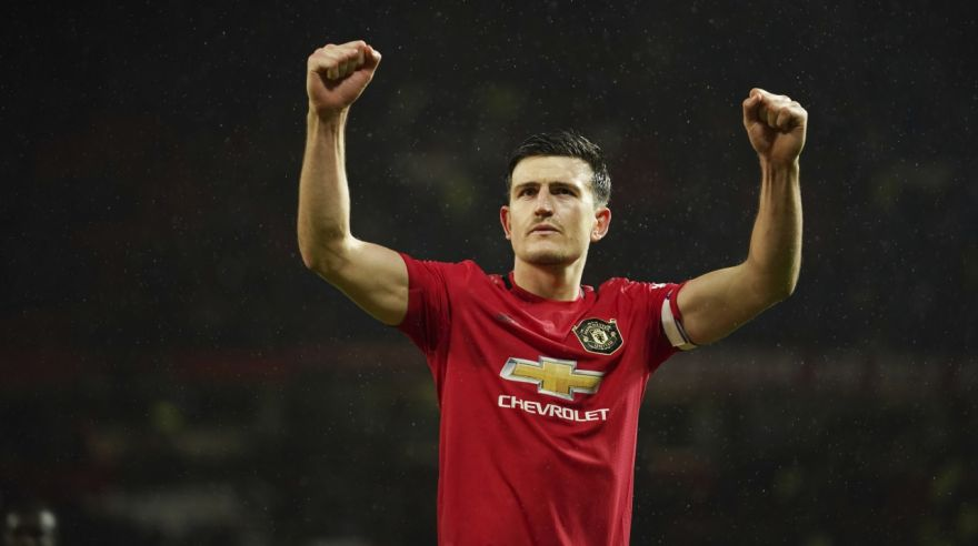 Harry Maguire z Manchestru United.