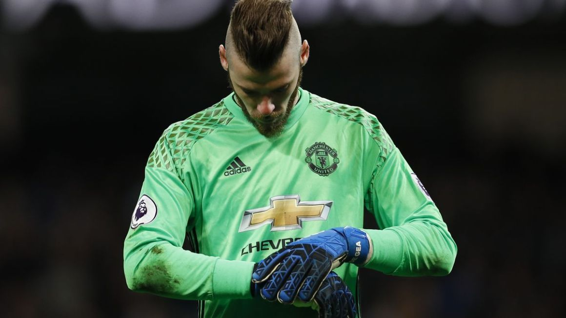 David De Gea Manchester United apr17 Reuters