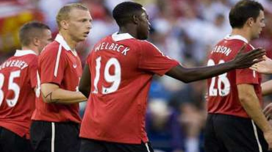 Welbeck danny manchester united
