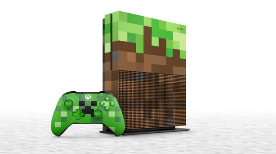 Xbox One X Minecraft Limited Edition (zdroj: Microsoft)