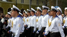 Ukraine. City Day in Mariupol.