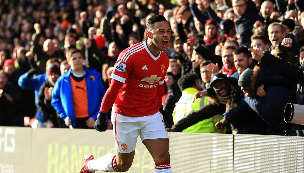 Memphis Depay Manchester United nov15 Getty Images
