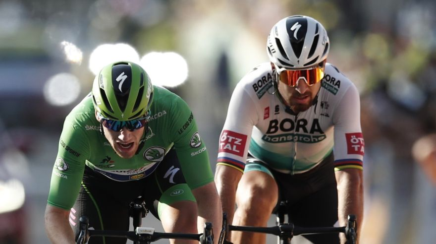 Peter Sagan a Sam Bennett