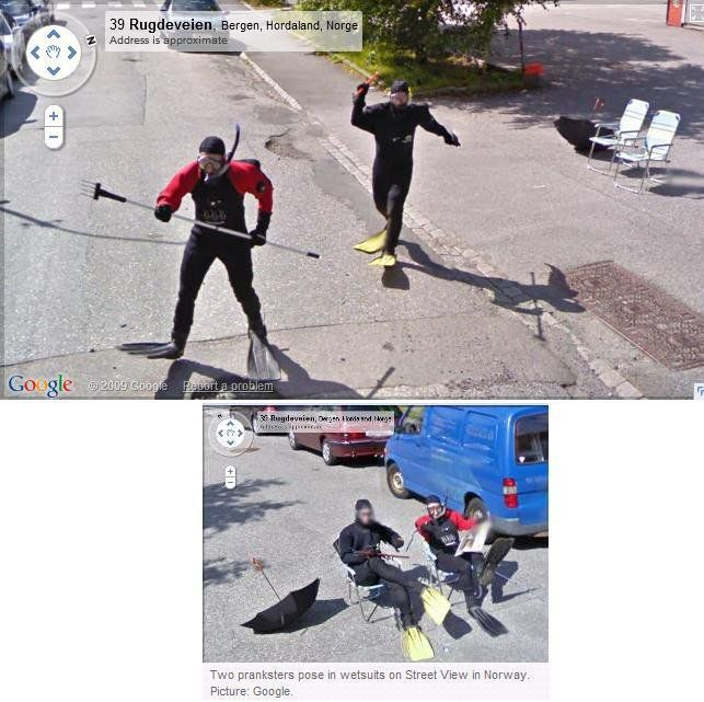 Google street view potapaci