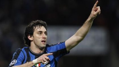Milito diego inter vs cska goool