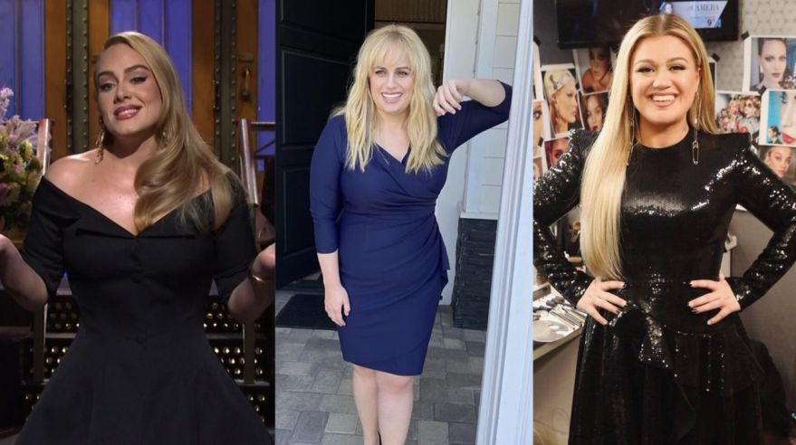 Adele, Rebel Wilson, Kelly Clarkson
