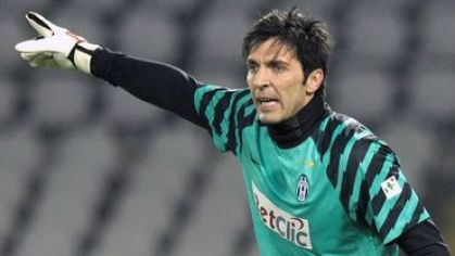 Buffon juventus navrat do akcie jan2011