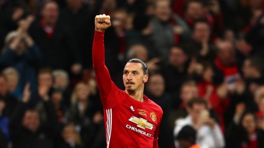 Zlatan Ibrahimovic Manchester United feb17 Getty Images