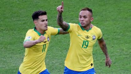 Everton a Philippe Coutinho
