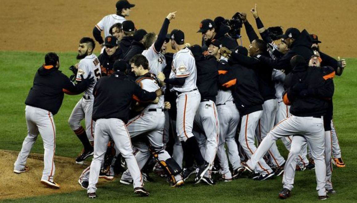 San francisco giants mlb svetova seria 2012 victory
