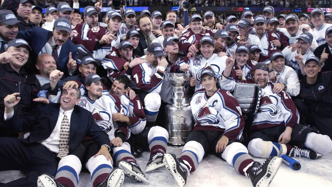 colorado avalanche stanley cup 2001