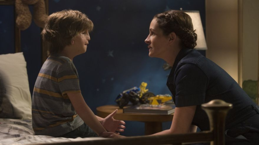 Julia Roberts a Jacob Tremblay vo filme Wonder