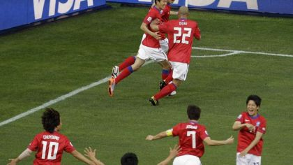 Korea lee jung soo gol oslava
