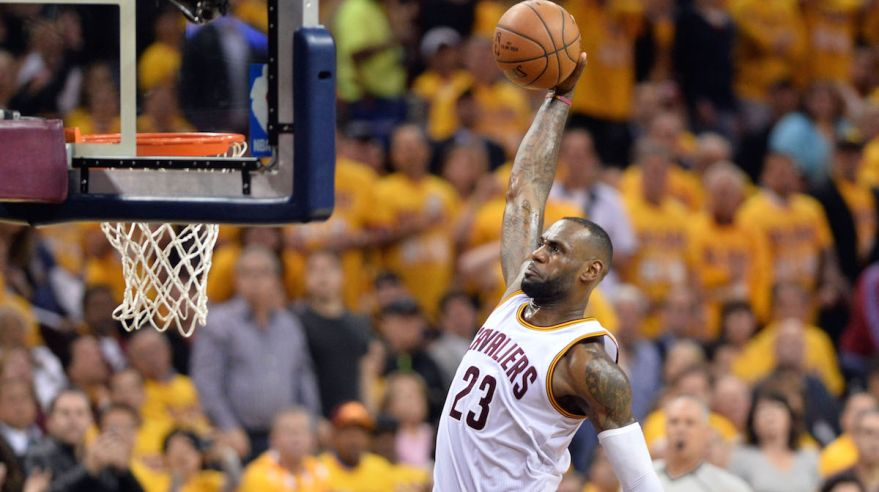 Cleveland Cavaliers, LeBron James, basketbal, NBA, maj16