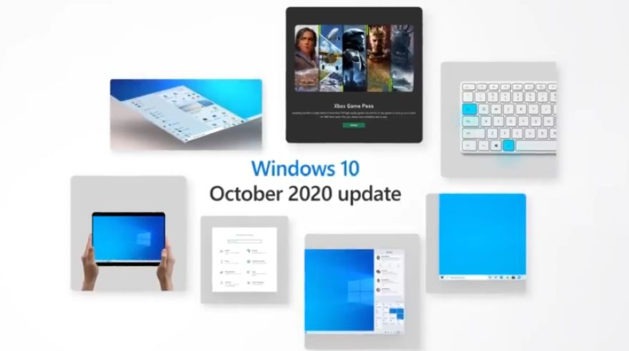 Windows 10 October 2020 Update je realitou.