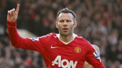 Giggs manchester united goool vs liverpool jan2011