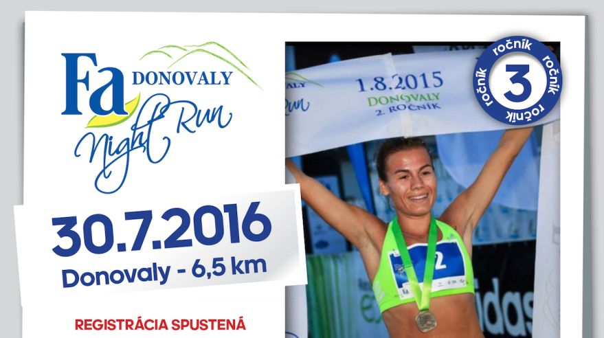 Fa Donovaly Night Run