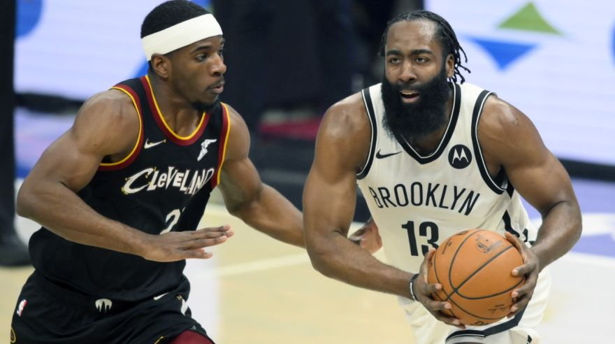 Brooklyn Nets at Cleveland Cavaliers.