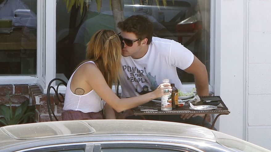 Miley Cyrus a Liam Hemworth
