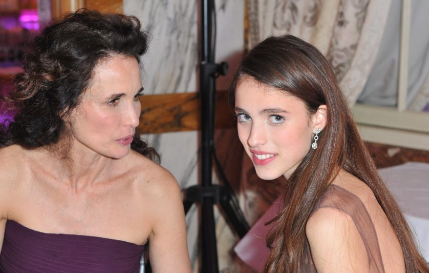 Margaret Qualley s mamou Andie MacDowell