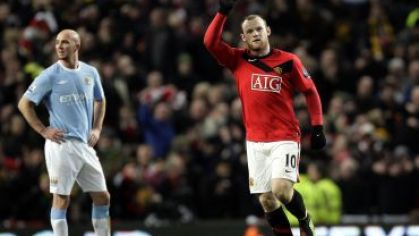 Rooney slavi gol do siete city carling cup 2010