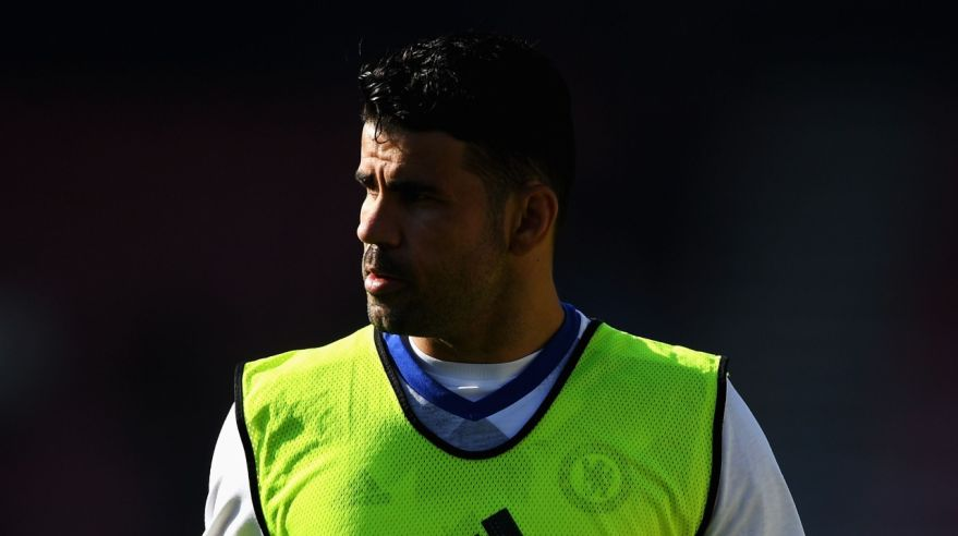 Diego Costa v drese Chelsea FC