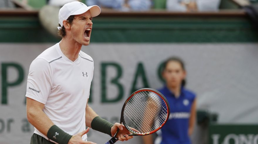 Andy Murray, French Open, Roland Garros, maj16