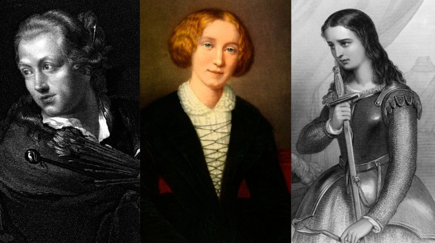 Margaret Bulkley - James Barry, Mary Ann Evans, Johanka z Arku, Panna Orleánska