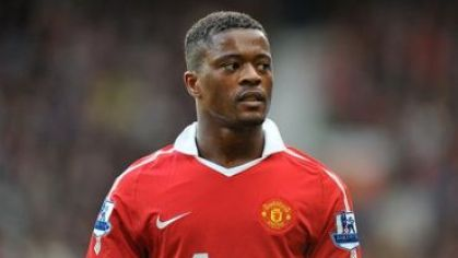 Evra patrice manchester united 2011