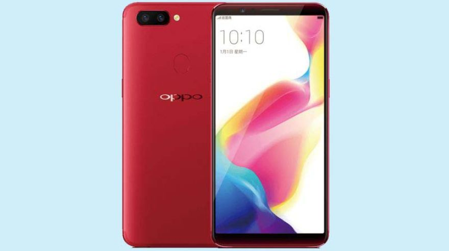 Chystaný Oppo R11s.