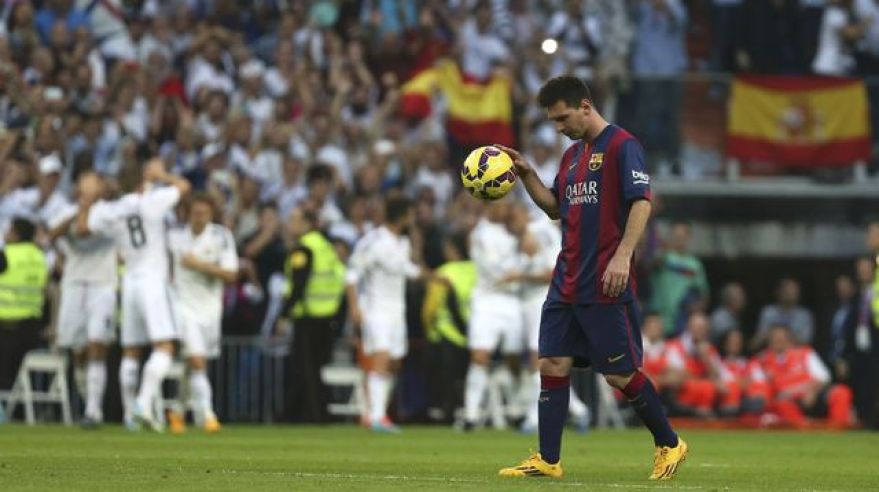 Real madrid barcelona el clasico lionel messi okt14 reuters