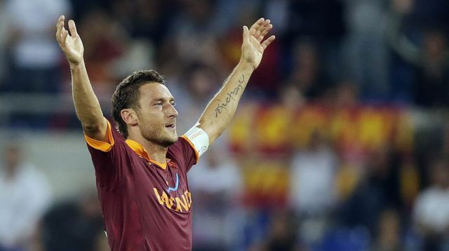 Totti francesco gol nov12 reuters